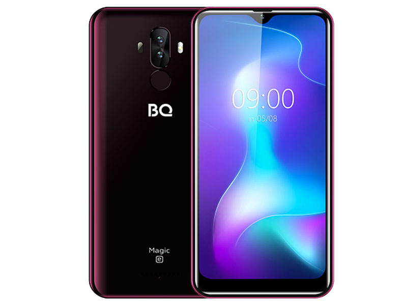 Сотовый телефон BQ 6042L Magic E Wine Red
