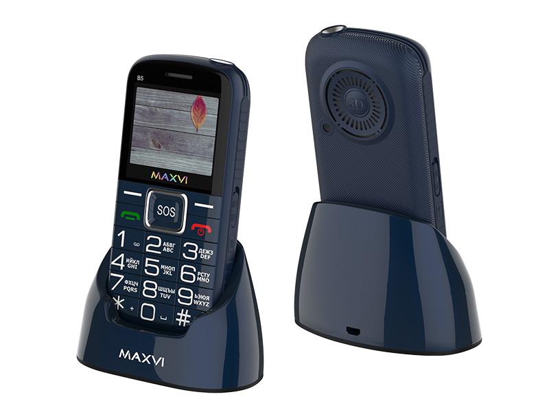 Zakazat.ru: Сотовый телефон Maxvi B5 Blue