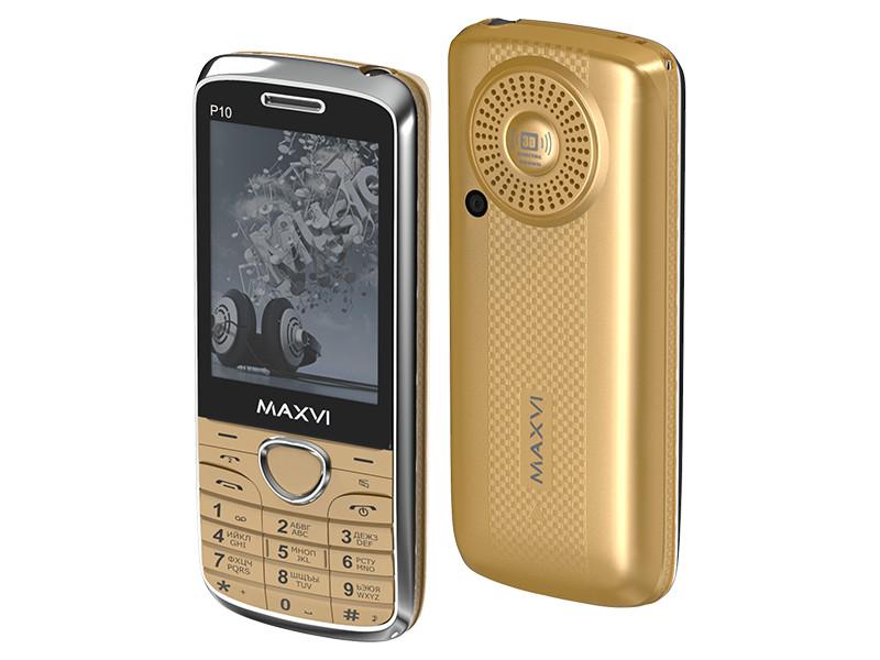 Zakazat.ru: Сотовый телефон Maxvi P10 Gold