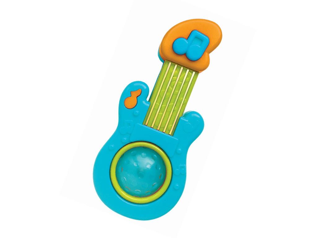 Детский музыкальный инструмент Азбукварик Гитара Light Blue 4680019283401