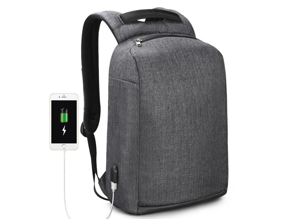 цена Рюкзак Tigernu T-B3558 Dark Grey онлайн в 2017 году