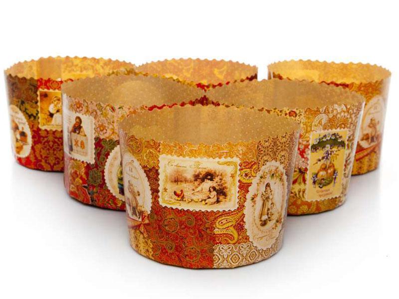 Форма для выпечки Paterra Ретро 134x100mm 6шт 402-808