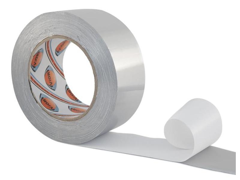 Клейкая лента Aviora Алюминиевая 50mm x 50m 302-009 клейкая лента aviora металлизированная 50mm x 50m 302 017