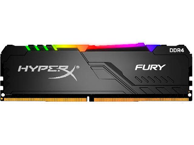 Модуль памяти HyperX Fury RGB DDR4 DIMM 3600Mhz PC-28800 CL17 - 16Gb HX436C17FB3A/16
