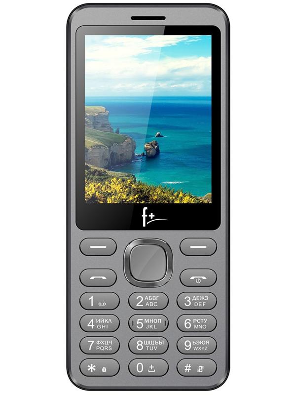 Сотовый телефон F+ S286 Dark Grey