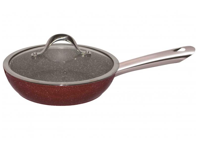 Сковорода Bekker Garnet 28cm BK-7958 сковорода bekker garnet 26 см алюминий bk 7941