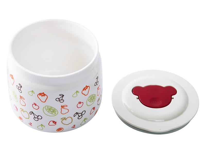 Баночка керамическая для йогуртниц Oursson PC89773/IV баночка для йогуртниц oursson pc89716 iv