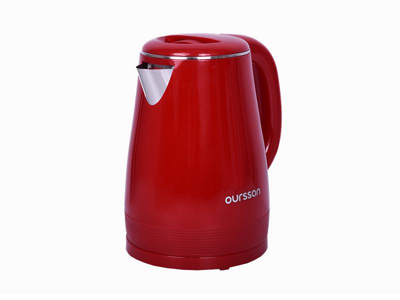 Чайник Oursson EK1530W/RD oursson соковыжималка для цитрусовых jm1001 rd