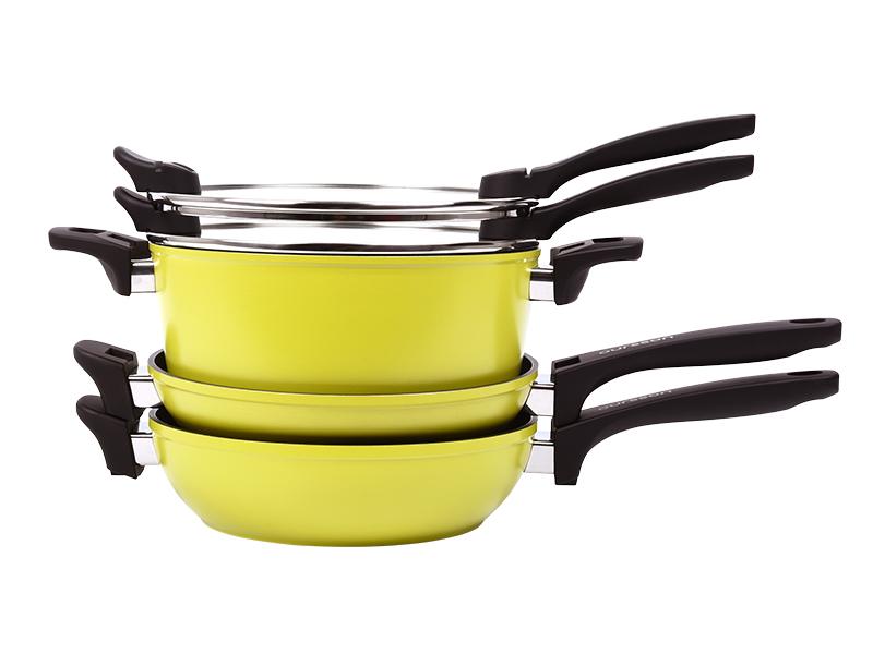 Набор Oursson CS2405A/GA набор салатников с крышкой oursson bs1890rc ga