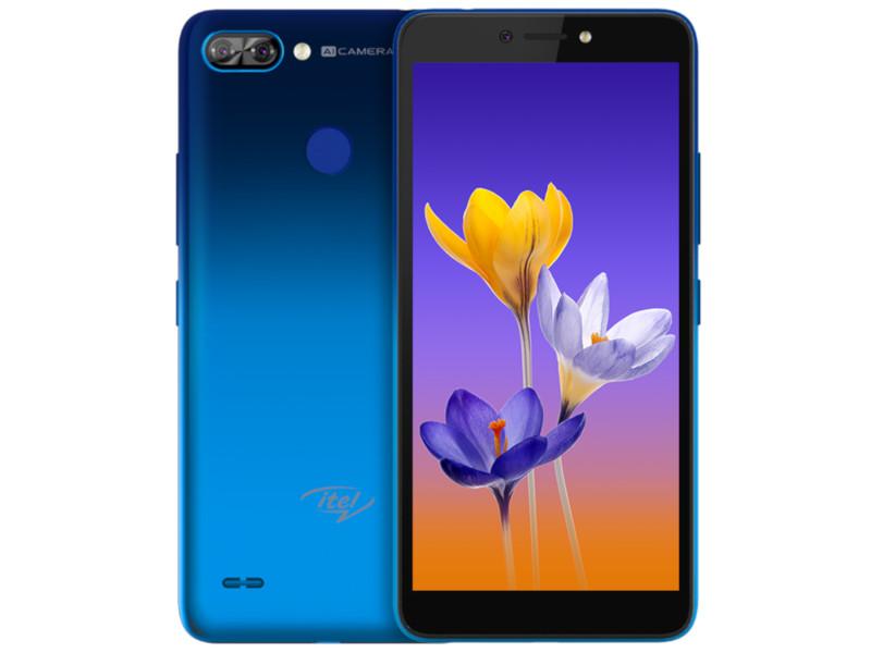 Сотовый телефон itel A46 2Gb/16Gb Neon Water