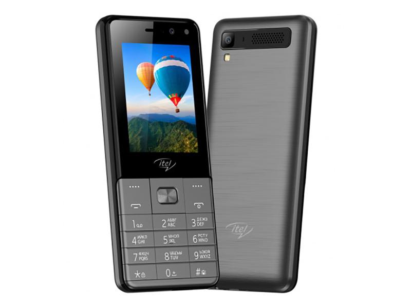 Сотовый телефон itel IT5250 Dark Grey