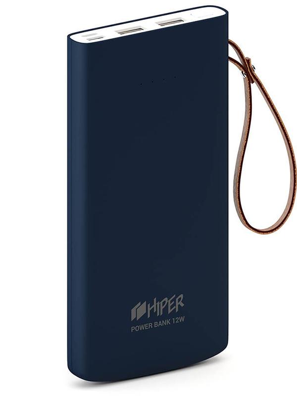 Внешний аккумулятор HIPER Travel10k Blue аккумулятор hiper внешний аккумулятор hiper mirror 4000 red