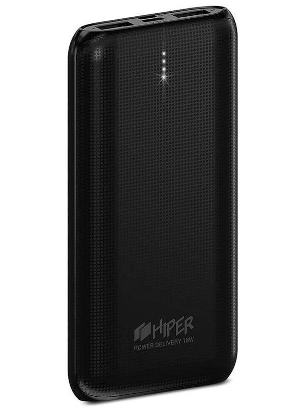 Внешний аккумулятор Hiper Power Bank RPX10000 10000mah Black внешний аккумулятор hiper mp10000 black