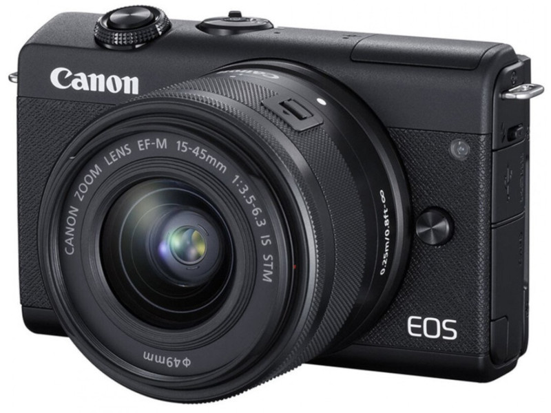 Фотоаппарат Canon EOS M200 Kit 15-45 IS STM Black 3699C010 фотоаппарат