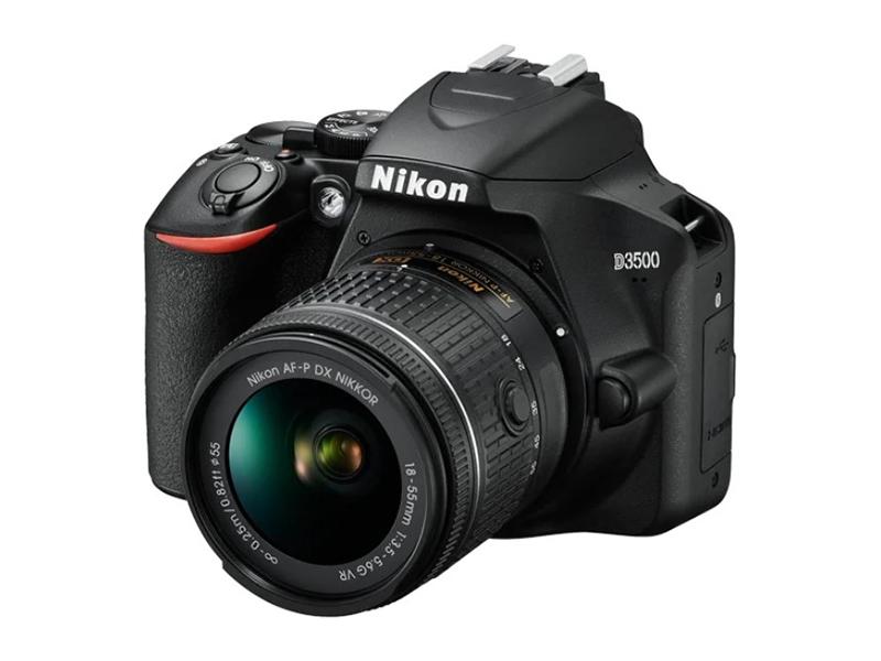 Фото - Фотоаппарат Nikon D3500 Kit 18-55mm F/3.5-5.6 VR AF-P цифровой фотоаппарат nikon z6 ii kit 24 70 f 4 s без адаптера