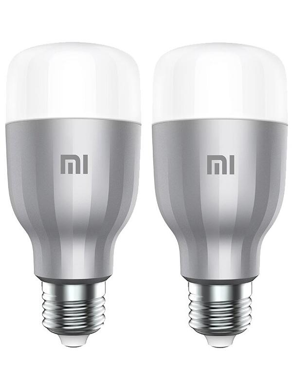 Лампочка Xiaomi Mi LED Smart Bulb 2-Pack MJDP02YL, E27, 10Вт