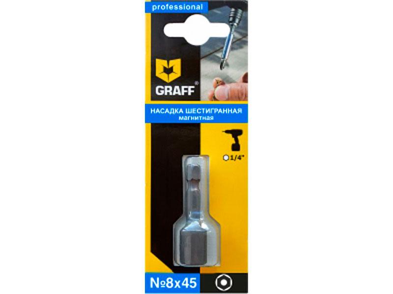 Бита Graff SW 8x45mm GBN0845 аккордеоны hohner a4262 nova ii 72 sw b grif