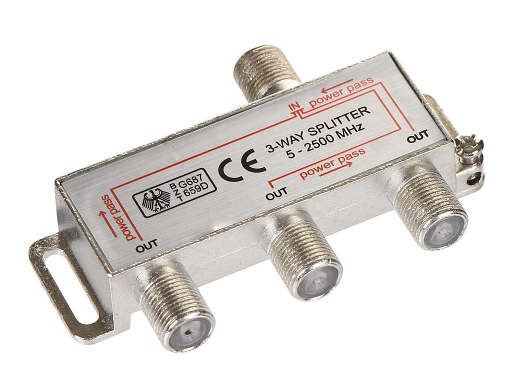 Сплиттер Ripo на 3 направления под F разъемы 5-2500 MHz 005-400084