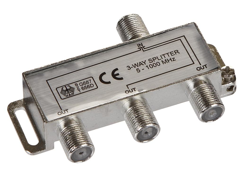 Сплиттер Ripo на 3 направления под F разъемы 5-1000 MHz 005-400082