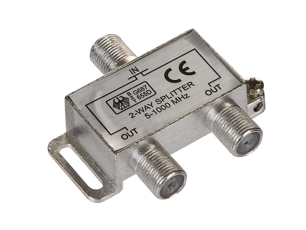 Сплиттер Ripo на 2 направления под F разъемы 5-1000 MHz 005-400081
