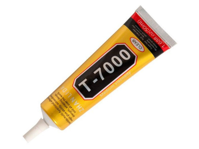 Инструмент для самостоятельного ремонта телефона Zhanlida T-7000 15ml клей-герметик проклейки тачскринов