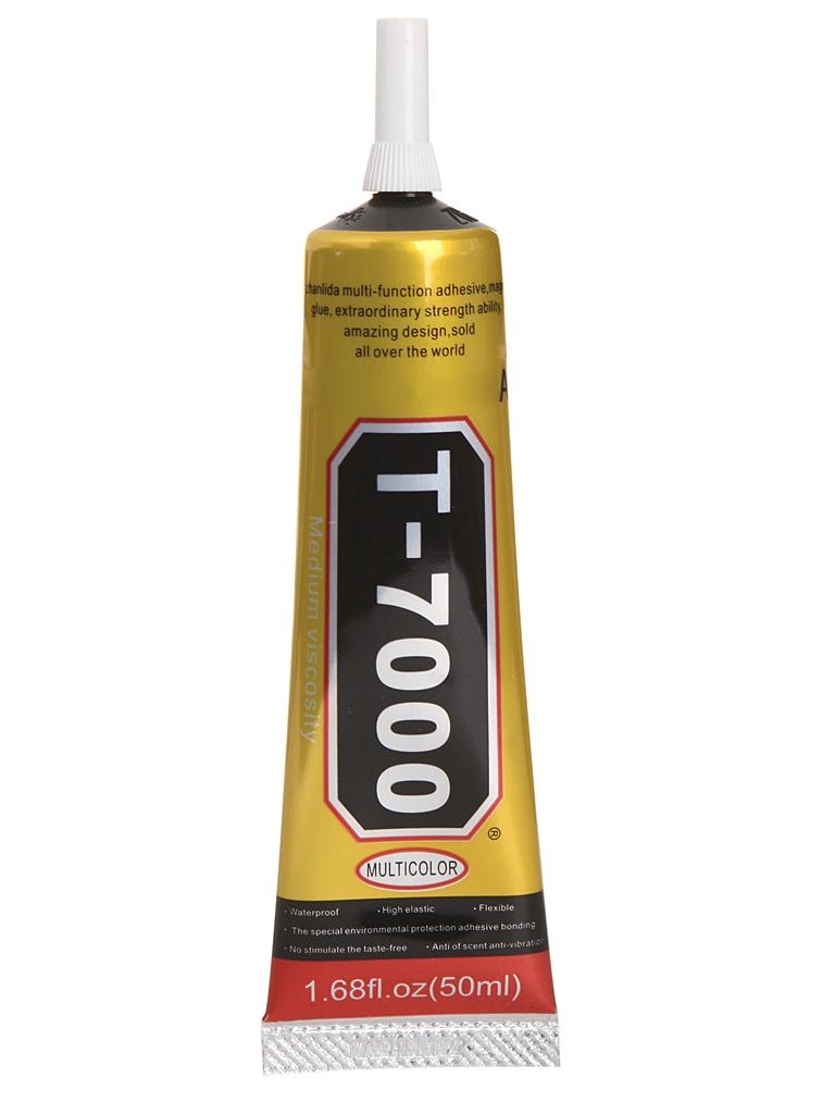 Инструмент для самостоятельного ремонта телефона Zhanlida T-7000 50ml клей-герметик проклейки тачскринов