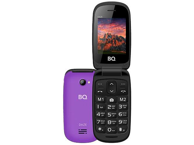 Zakazat.ru: Сотовый телефон BQ 2437 Daze Purple