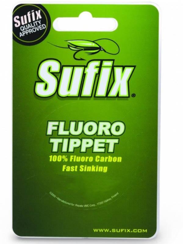 Леска Sufix Fluoro Tippet 0.318mm 25m 5.4kg Transparent DS1IL033024A3F