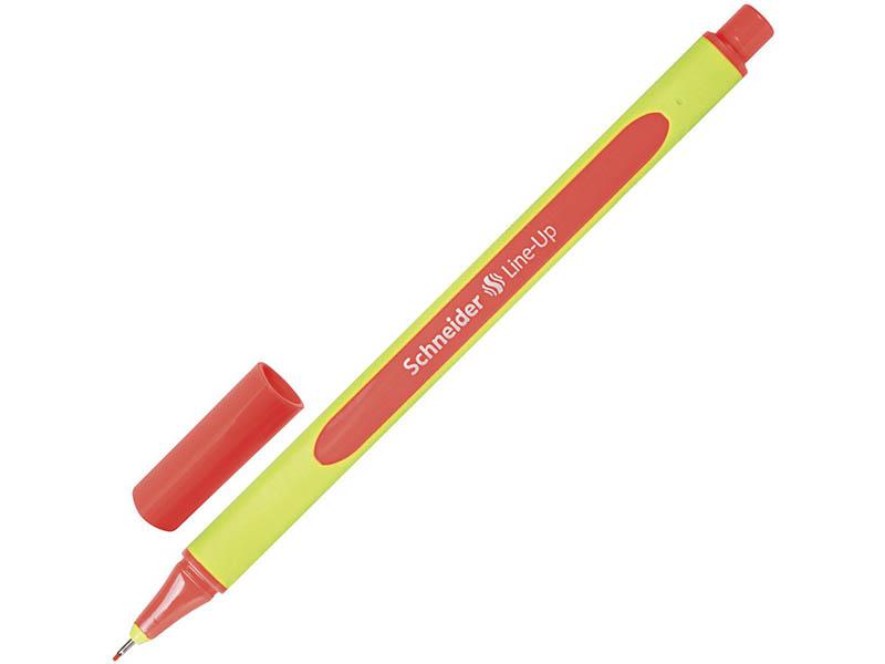 Ручка капиллярная Schneider Line-Up корпус Coral, стержень Coral 191022