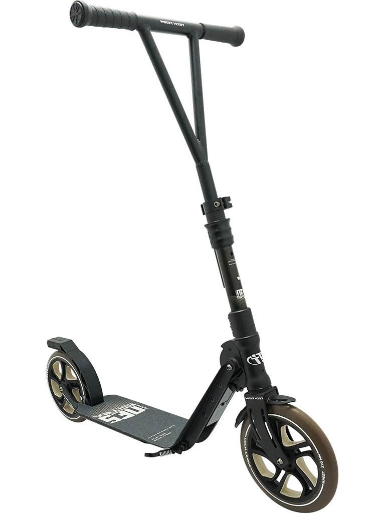 Самокат Tech Team Astor 230 2020 Black-Brown