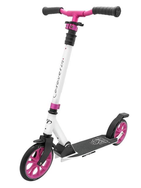 Самокат Tech Team Caravel 210 2020 White-Pink самокат tech team mini red