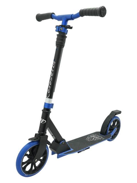 Самокат Tech Team Caravel 210 2020 Black-Blue