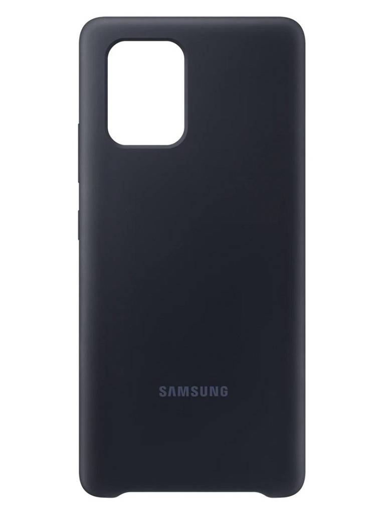 Чехол для Samsung G770 Galaxy S10 Lite Silicone Cover Black EF-PG770TBEGRU чехол samsung ef qg975 для samsung galaxy s10 бесцветный