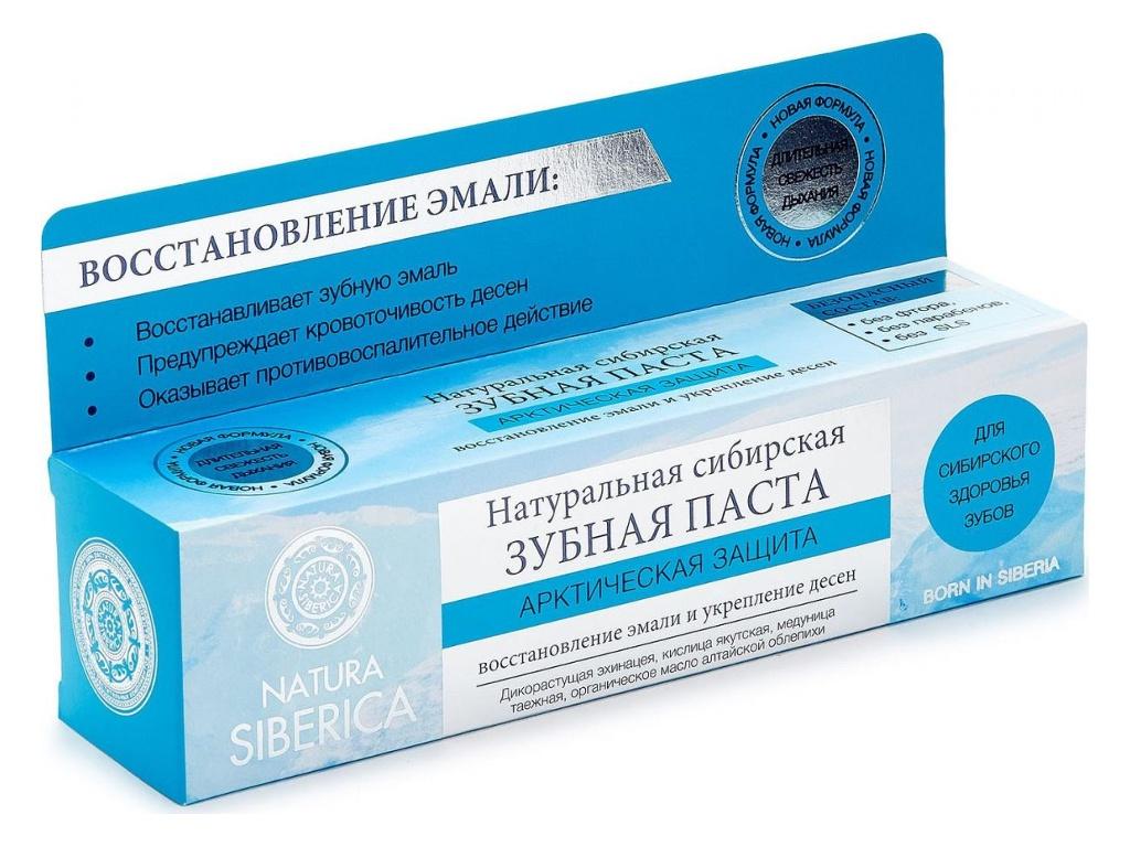 Зубная паста Natura Siberica Арктическая защита 100гр 2680 / 24593