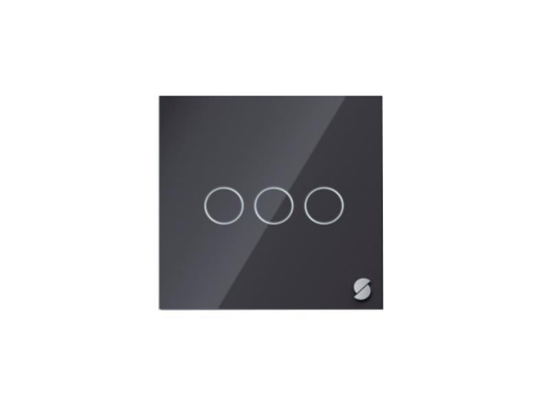 Выключатель Sibling Powerlite-WS3B Black фото