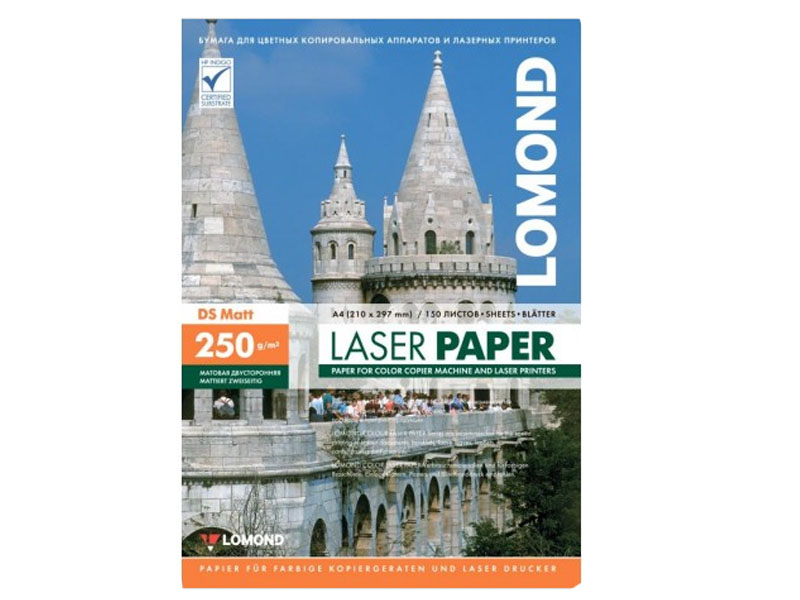 Фотобумага Lomond A4 300g/m2 Матовая 150 листов Lom_0300743