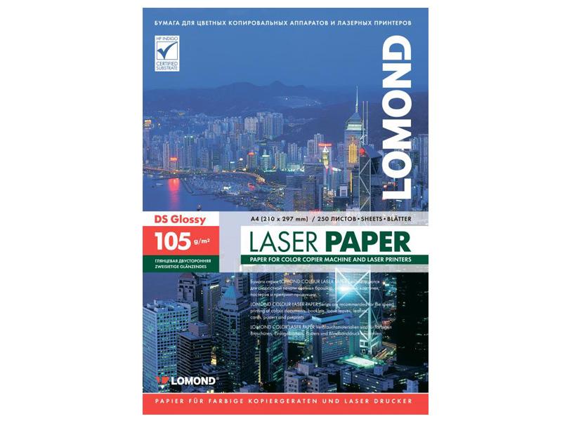 Бумага Lomond A4 105g/m2 Глянцевая 250 листов Lom_0310641