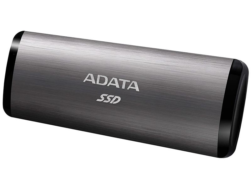 Фото - Твердотельный накопитель A-Data SE760 256Gb Titanium ASE760-256GU32G2-CTI внешний ssd жесткий диск a data ase760 256gu32g2 cti titanium usb c 256gb ext
