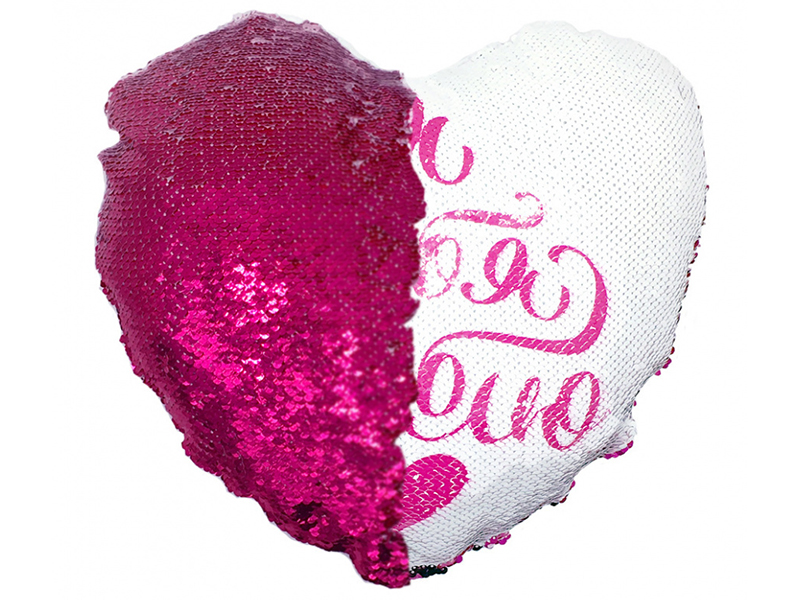 Подушка Good Mood Сердце Я тебя люблю 40х40cm РI3252