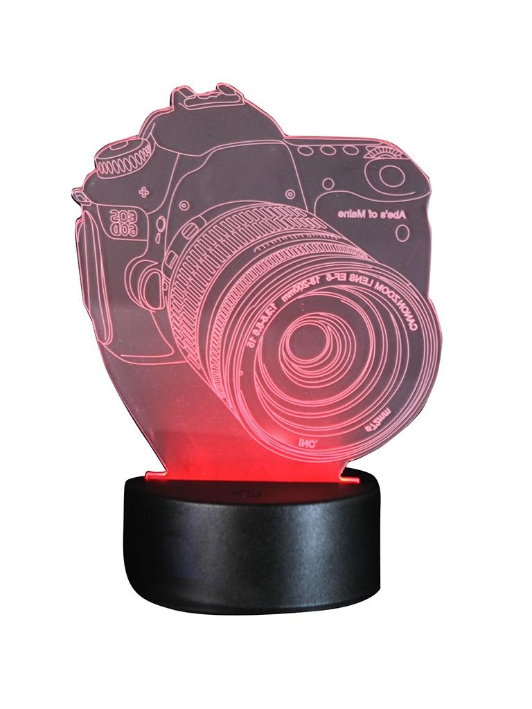 3D лампа Veila Фотоаппарат 9656