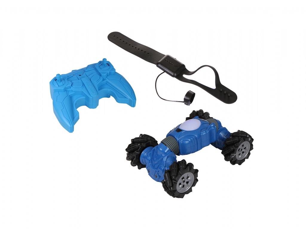 Радиоуправляемая игрушка Obltoys Машина-перевертыш Blue TG27664853 фото