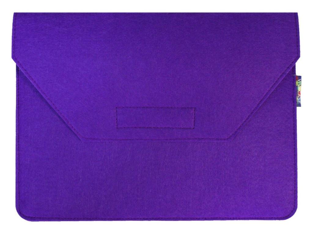 Аксессуар Чехол-папка 12-13.3-inch Vivacase для MacBook Felt Lilac VCN-FELT133-lilac фото