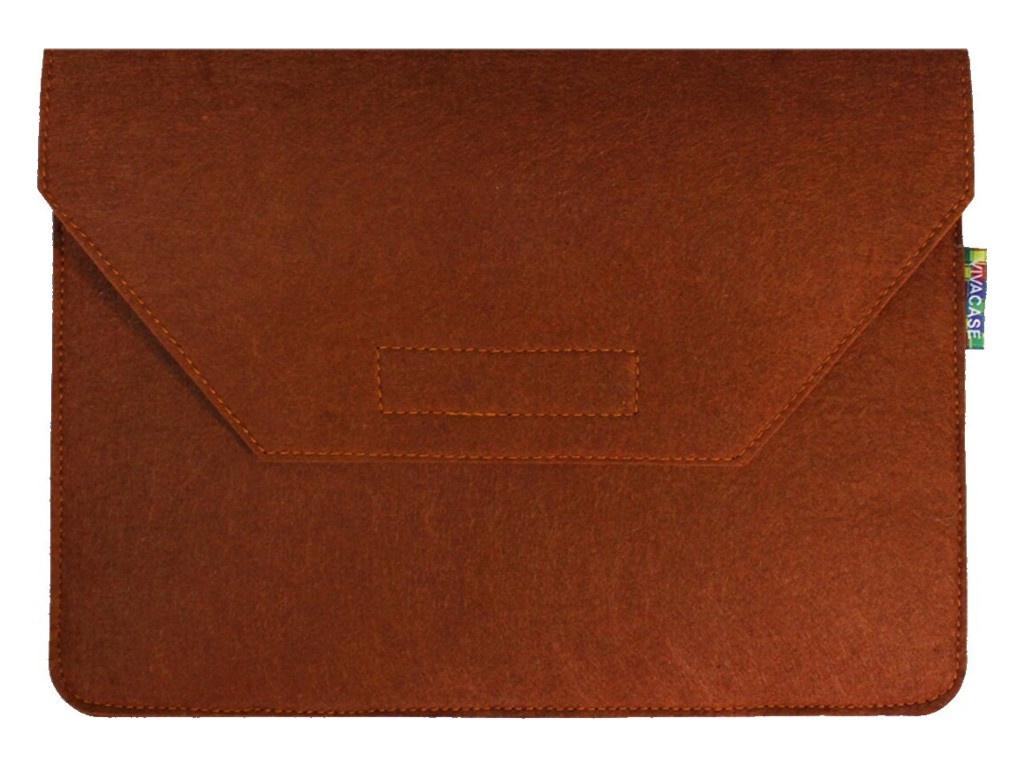 Аксессуар Чехол-папка 12-13.3-inch Vivacase для MacBook Felt Orange VCN-FELT133-or