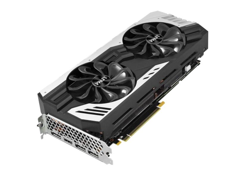 Видеокарта Palit GeForce RTX 2070 Super Jetstream LE 1605Mhz PCI-E 3.0 8192Mb 14000Mhz 256 bit HDMI 3xDP NE6207S019P2-1040J jetstream mg412