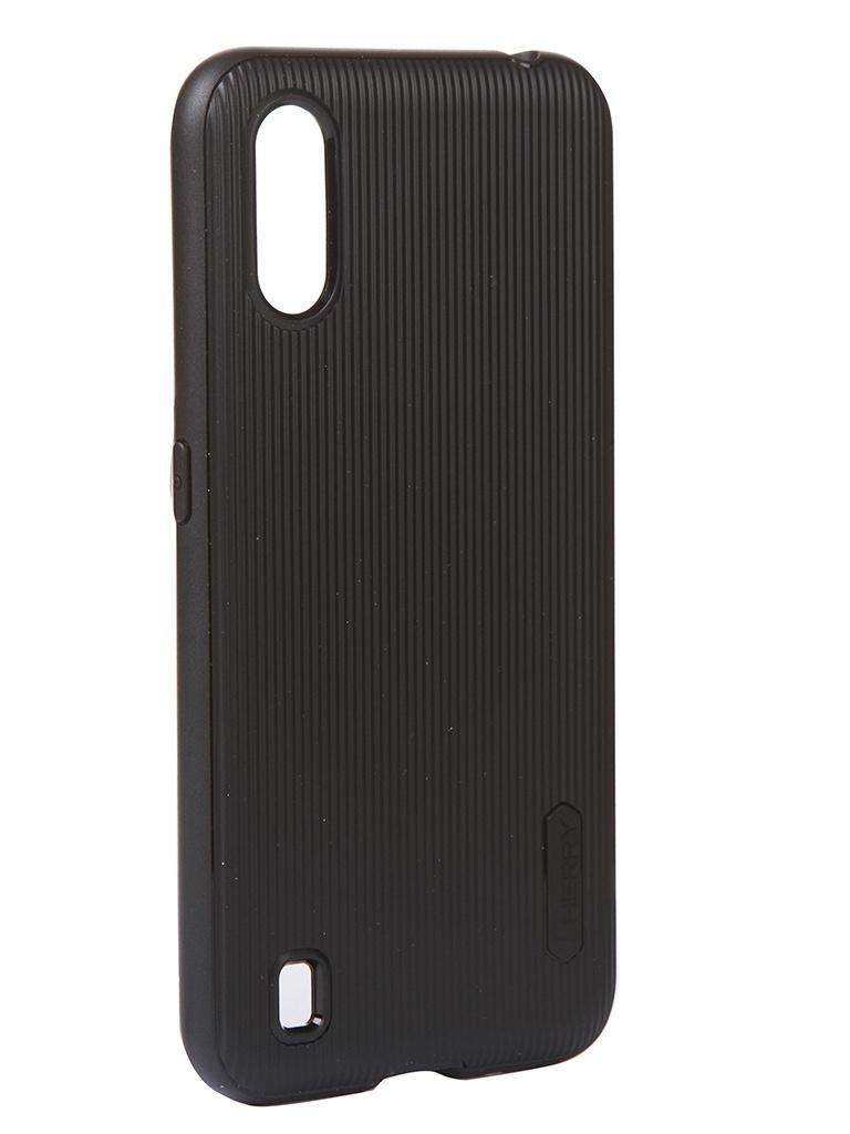 Чехол Zibelino для Samsung Galaxy A01 A015 Cherry Black ZCH-SAM-A015-BLK