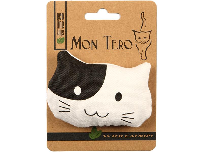 Игрушка для кошек Mon Tero Эко Кошка с кошачьей мятой 51491