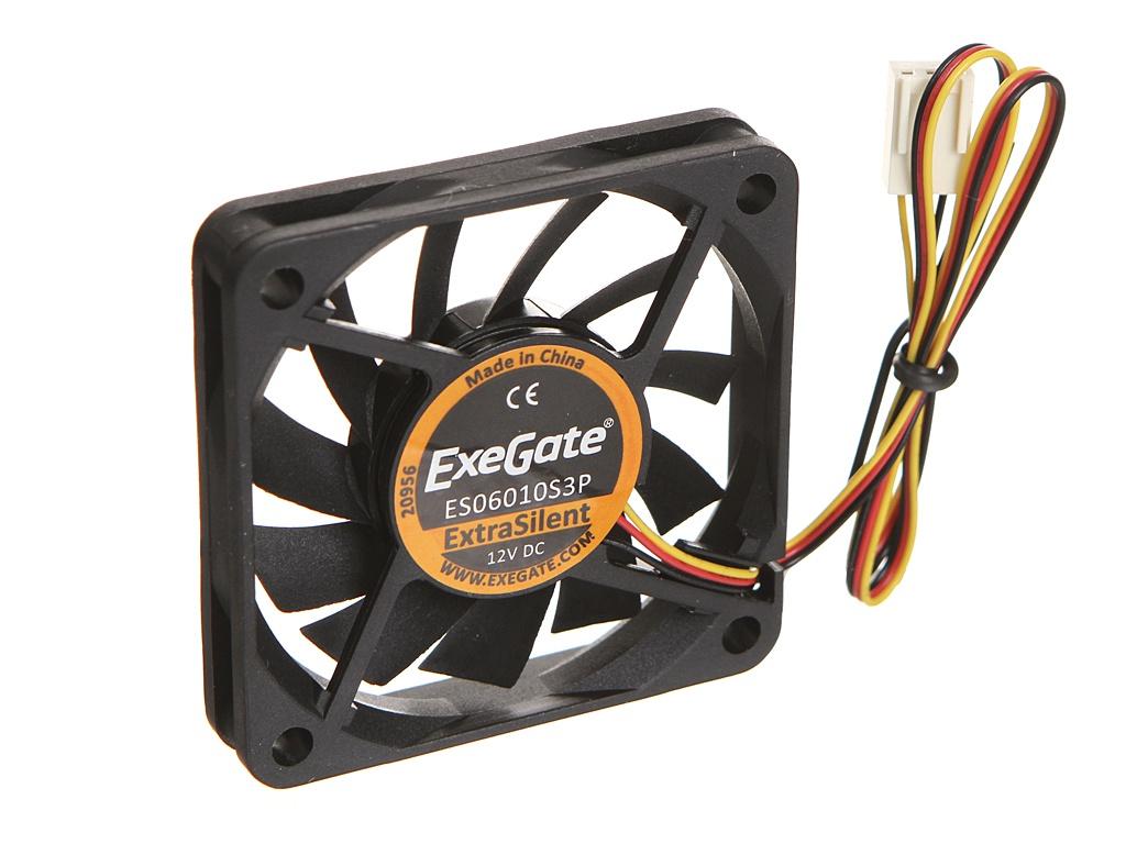 Вентилятор ExeGate ExtraSilent 60x60x10mm 3000RPM ES06010S3P