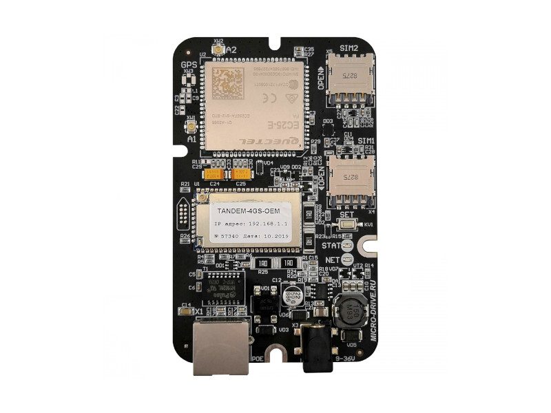 Роутер Microdrive Tandem-4GS-OEM-1