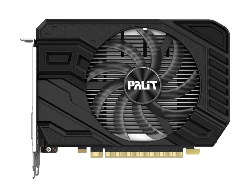 Видеокарта Palit GeForce GTX 1650 Super StormX OC 1530Mhz PCI-E 3.0 4096Mb 12000Mhz 128 bit DVI HDMI NE6165SS18G1-166F