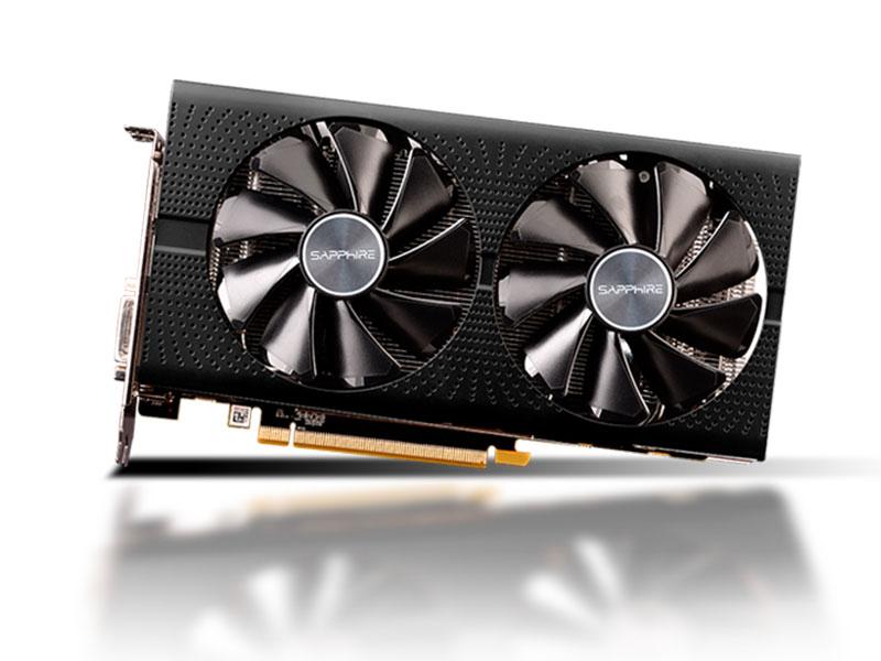 Видеокарта Sapphire Pulse OC Lite Radeon RX 580 1257Mhz PCI-E 3.0 8192Mb 8000Mhz 256 bit DVI 2xHDMI 11265-67-20G